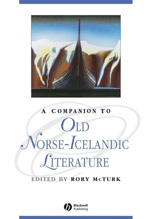 A Companion to Old Norse-Icelandic Literature and Culture (140513738X) cover image