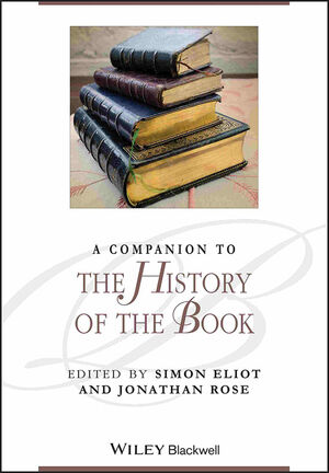 A Companion to the History of the Book (140519278X) cover image