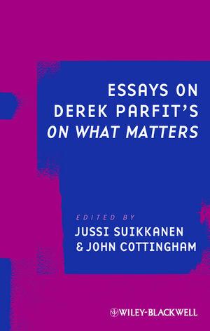 Essays on Derek Parfit