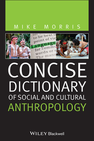 Concise Dictionary of Social and Cultural Anthropology (144436698X) cover image