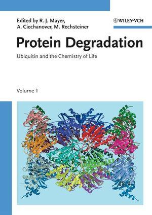 Protein Degradation Series, 4 Volume Set