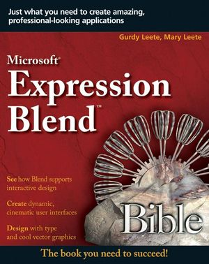 Microsoft Expression Blend Bible (0470291990) cover image