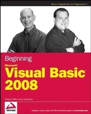 Beginning Microsoft Visual Basic 2008 (0470382090) cover image