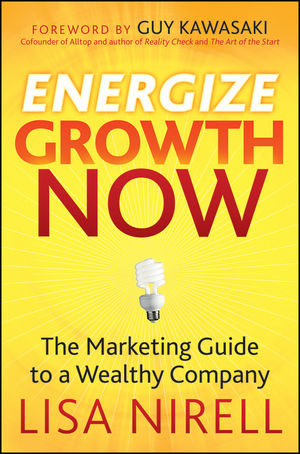 Energize Growth NOW: The Marketing Guide to a Wealthy Company (0470493690) cover image