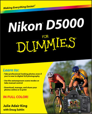 Book Cover Image for Nikon D5000 For Dummies