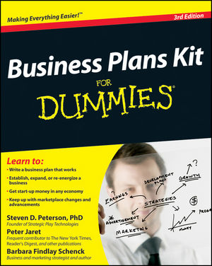 Business Plans Kit For Dummies, 3rd Edition (0470637390) cover image