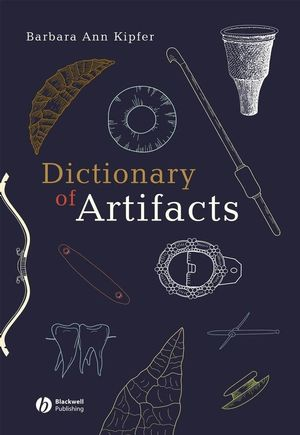 Dictionary of Artifacts (0470766190) cover image