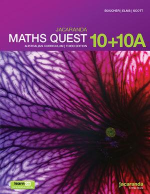 Jacaranda Maths Quest 10 AC 3e LO & Print