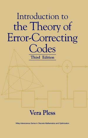 Introduction to the Theory of Error-Correcting Codes, 3rd Edition (1118030990) cover image