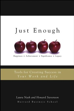 Just Enough: Tools for Creating Success in Your Work and Life (1118039890) cover image