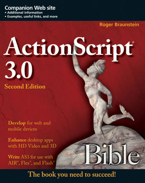 ActionScript 3.0 Bible, 2nd Edition (1118081390) cover image