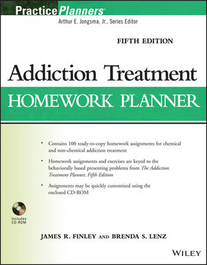 Addiction Treatment Homework Planner, 5th Edition (1118560590) cover image