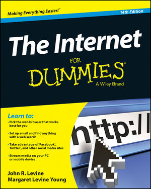 The Internet For Dummies, 14th Edition (1118967690) cover image