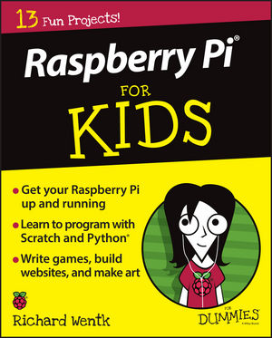 Raspberry Pi For Kids For Dummies (1119049490) cover image
