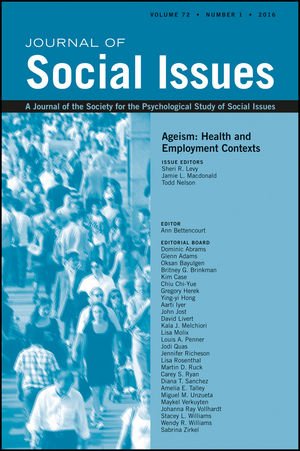 Ageism: Health and Employment Contexts