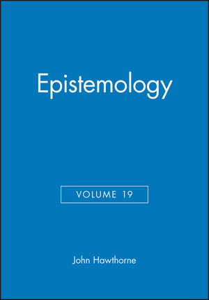 Epistemology, Volume 19