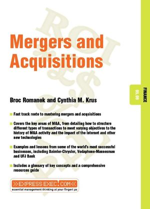Mergers and Acquisitions: Finance 05.09