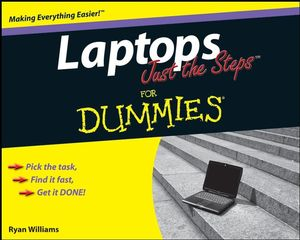 Laptops Just the Steps For Dummies (0470422491) cover image