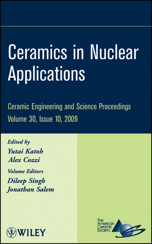 Ceramics in Nuclear Applications, Volume 30, Issue 10 (0470583991) cover image