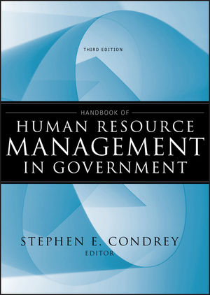 Handbook of Human Resource Management in Government, 3rd Edition (0470616091) cover image