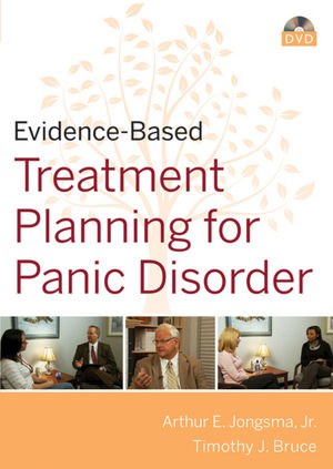 Evidence-Based Psychotherapy Treatment Planning for Panic Disorder DVD and Workbook Set (0470621591) cover image