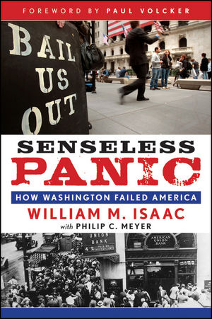 Senseless Panic: How Washington Failed America (0470649291) cover image