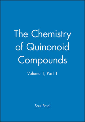 The Chemistry of Quinonoid Compounds, Part 1