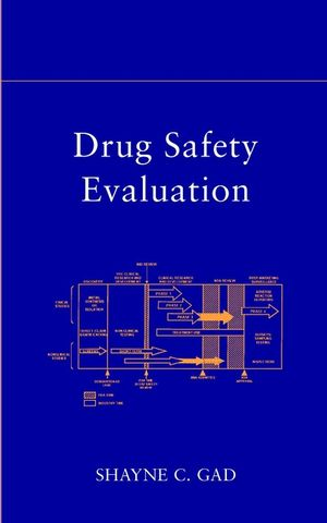 Drug Safety Evaluation (0471459291) cover image