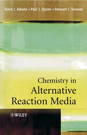 Chemistry In Alternative Reaction Media (0471498491) cover image