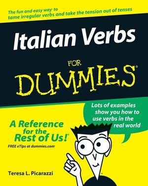 Italian Verbs For Dummies<sup>&#174;</sup>