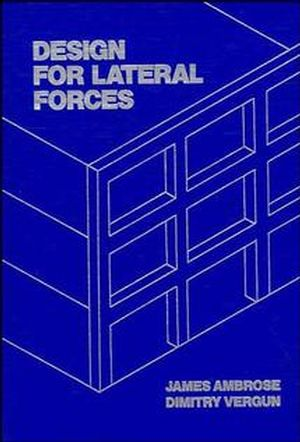 Design for Lateral Forces (0471848891) cover image