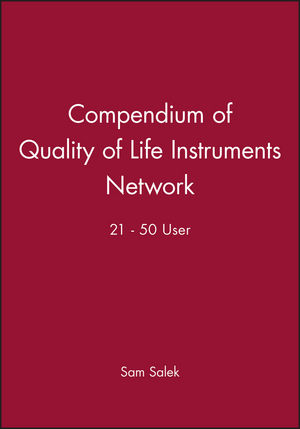Compendium of Quality of Life Instruments Network 21 - 50 User