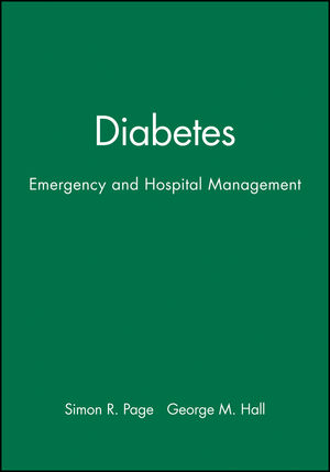 Diabetes: Emergency and Hospital Management (0727912291) cover image