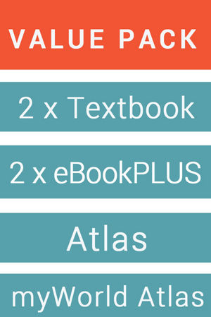 Geography Alive 7 For The AC & eBook + History Alive 7 For The AC & eBook + Jacaranda Atlas For The AC 8E (Includes MyWorld Atlas AC)