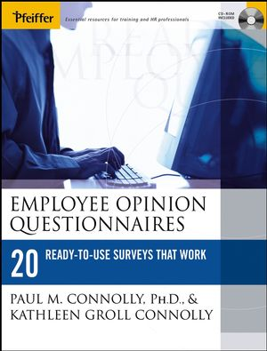 Employee Opinion Questionnaires: 20 Ready-to-Use Surveys That Work