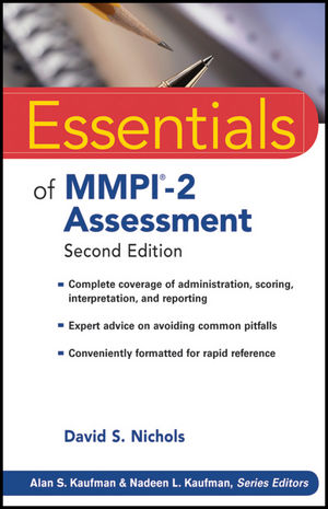 Essentials of MMPI-2 Assessment, 2nd Edition (1118037391) cover image