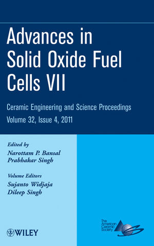 Advances in Solid Oxide Fuel Cells VII: Ceramic Engineering and Science Proceedings, Volume 32, Issue 4 (1118059891) cover image