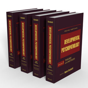 Developmental Psychopathology, 4 Volume Set, 3rd Edition (1118121791) cover image