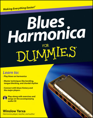 Blues Harmonica For Dummies (1118252691) cover image