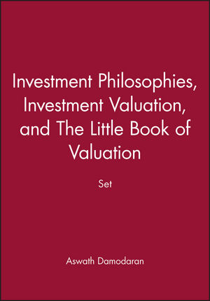 Investment Philosophies, Investment Valuation, and The Little Book of Valuation Set (1118452291) cover image