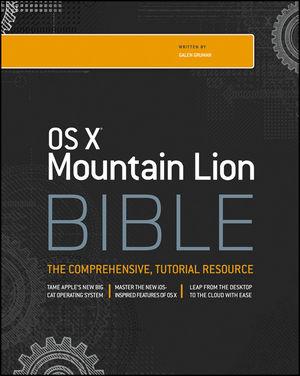 OS X Mountain Lion Bible (1118499891) cover image