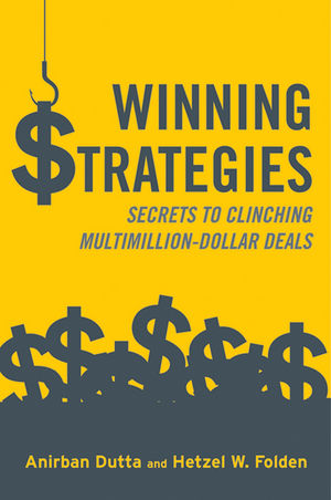 Winning Strategies: Secrets to Clinching Multimillion-Dollar Deals (1118580591) cover image