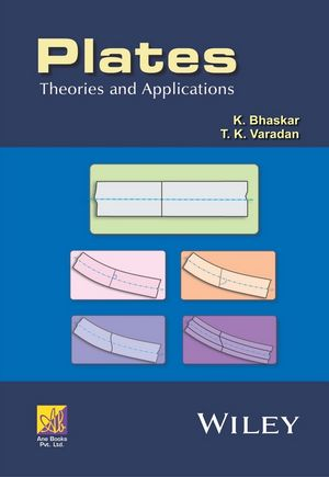 Plates: Theories and Applications (1118893891) cover image