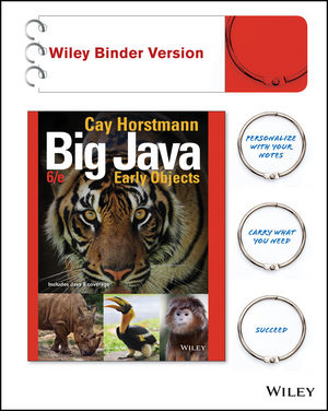 Big Java: Early Objects, Interactive Edition, 6th Edition