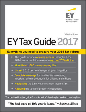 Ernst & Young Tax Guide 2017 (1119248191) cover image