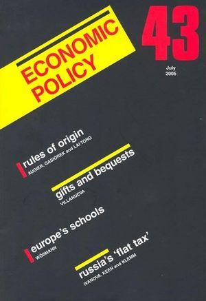 Economic Policy 43