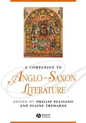 A Companion to Anglo-Saxon Literature (1405176091) cover image