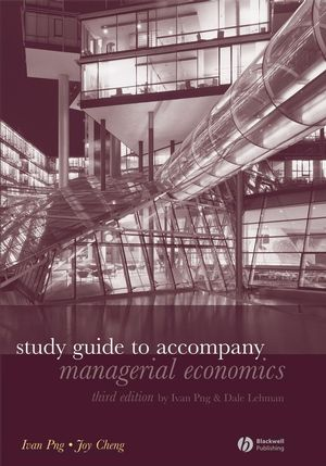 Study Guide to Accompany Managerial Economics, 3rd Edition