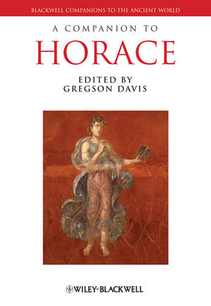 A Companion to Horace (1444319191) cover image