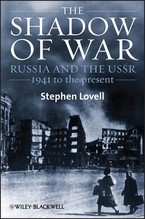 The Shadow of War: Russia and the USSR, 1941 to the present (1444351591) cover image